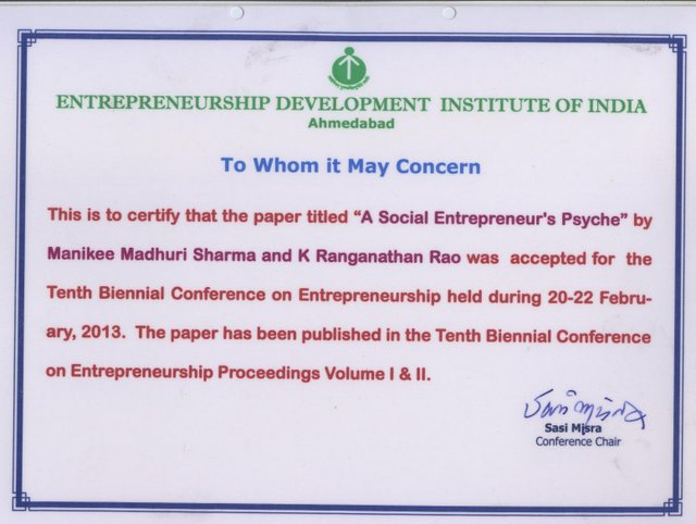 Entrepreneurship Development Institute